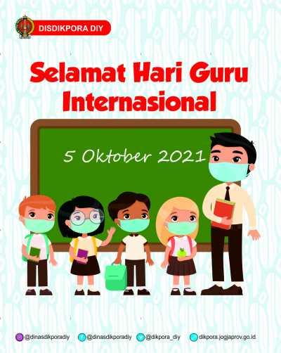 Selamat Hari Guru Internasional